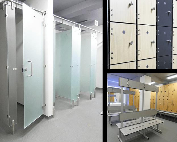 Changing Room Design Hampshire